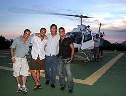 gay rio helicopter tour